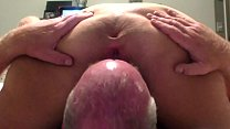 Horny Wife Gets Hers Ass Reamed By Hubby's Tongue