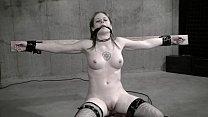 Wasteland Bondage Sex Movie - Sexy Dominatrix in White Latex (Pt. 2)