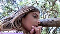 BANGBROS - Brunette Teen Kesiah Grey Shows Off Her Sweet Big Ass