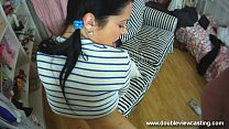 DOUBLEVIEWCASTING.COM - NELLY FEELS SOMETHING UP HER FANNY (POV VIEW)