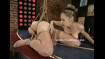 Ropes hold tight slut body and hands (Stop jerking off! Visit RealOne24.com)