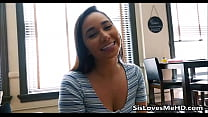 My Step Sister Jerking Me Off With Both Hands - SisLovesMeHD.com