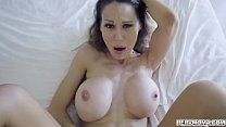 Gorgeous MILF Mckenzie Lee swallows her stepsons dick then got fucked hard while she moans loud like a pornstar.