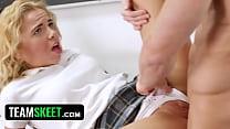 InnocentHigh - Tiny School Girl (Alina West) Groped by Horny Teacher