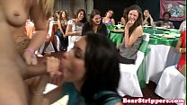 Slutty bachelorette pounded at her own party