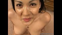 Hottest Asian ever gives amazing blowjob