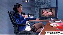 Sex Scene In Office With Slut Hot Busty Girl (Cindy Starfall) video-30