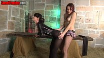 Our Nutless Sissy Whore FEMDOM CASTRATION PANTYHOSE