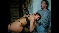 Italian vintage porn: anal sex in black stockings