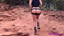 Horny hiking with TheFoxxxLife