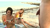 BRANDI BELLE - My Friends And I Getting Kinky On The Beach