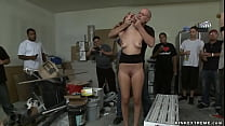Little redhead public anal banged