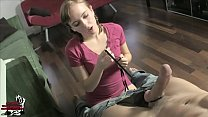 Young Honey Trap Maid BALLBUSTING CBT EMASCULATION