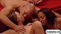 Swingers enjoyed orgy in the red room