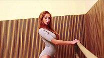 METART - Redhead Michelle H Undressing
