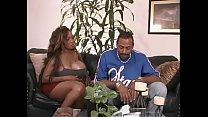 Thug guy fucks a ghetto busty bitch Spantaneeus Xtasty on the couch