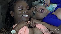 Interracial Lesbians Eat Pussy at the Love Shack | Fetswing Lifestyle
