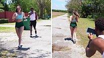 BANGBROS - y. Harley Jade Goes For A Jog & Someone Follows Her