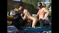 Lustful party and unleashed blondes eating black cocks