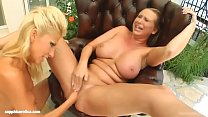 Clara G and Mandy Bright in fisting action by the new SapphiX