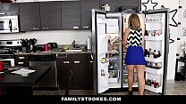 FamilyStrokes - Cute Blonde (Kelly Green) Fucked by Step-Brother