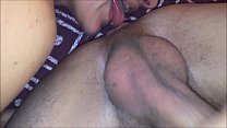 T&A 622 - Pounded Milf in Black & Red Corset with Satin Red Panty - 02
