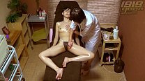 GoGo Massage: She tries to hide her Arousal