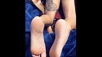 Exotic beautiful teen feet