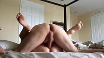 wife creampied by hubby's friend