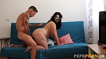 It's been years since fattie Luisa fucked last. Only PepePorn can help her!