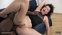 Mature SQUIRTS and goes Crazy when fucked by black man with his big cock