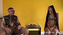 TOUGHLOVEX Third wheel with big booty Andreina De Luxe