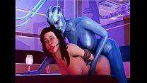 Mass Effect - Bang Liara TSoni