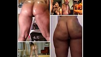 Naked Twerk Cumshot Collage