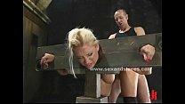 Blonde delicious sex slave rough sex