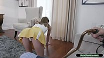 Redhead rimmed and fucked by stepgrandpa
