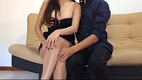 Brother seduces step sister in black dress 2