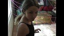 Cute 18YO Plays Burglar to Get her Dildo - DarlingCams.com