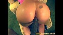 big ass sexy Naomy interracial fuck