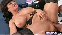 (lisa ann) Slut Girl With Big Wet Olied Butt Get Anal video-22