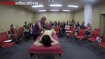 Clase nº1 de masaje erótico anal