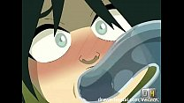 Avatar Hentai - Water tentacles for Toph