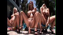 Candy Manson Puma Swede and Trina Michaels organized hot lesbian action before swimming