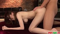 Yui Hatano goes crazy with so much dick inside her - More at Japanesemamas com
