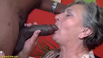 busty 80 years old granny first time interracial fucked