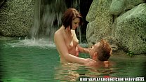 Waterfall passion with Kiera Winters