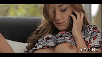 Sweet legal age teenager likes intensive toying