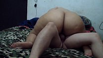 Homemade porn video having sex with my husband and when I come I masturbate him so he can finish.