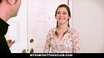 MyBabySittersClub - Teen Baby Sitter Caught and Fucked