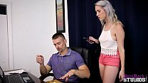 Cadence Luxx in Blackmailing My Daddy